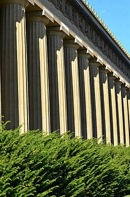 Ally Photograph - Parthenon by Ally  White