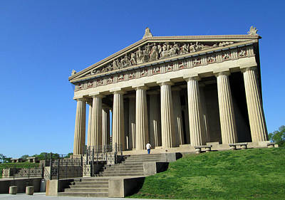Photograph - Parthenon At Nashville  by Mary Capriole