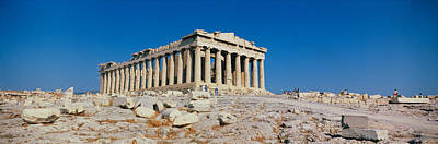 Ancient Greece Photograph - Parthenon Athens Greece by Panoramic Images
