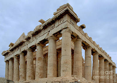 Photograph - Parthenon Corner by Phil Cardamone