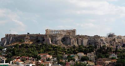 Photograph - Parthenon Dominates by Lorraine Devon Wilke