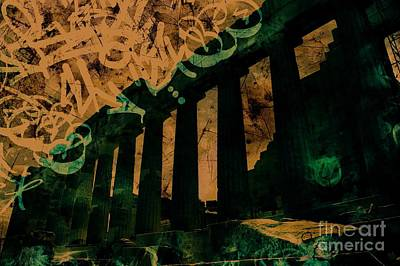 Parthenon In Athens Greece Art Print by Marina McLain