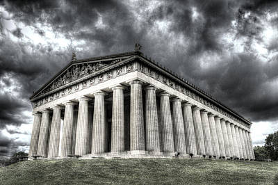 Parthenon Of Nashville Art Print by Honour Hall