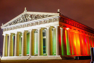 Photograph - The Parthenon by Robert Hebert