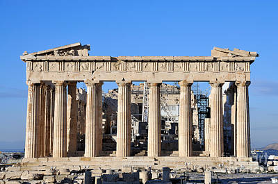 Acropolis Photograph - Parthenon Temple by George Atsametakis