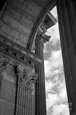 Photograph - Cornices And Columns by Jennifer Apffel