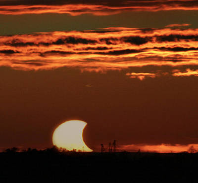 Photograph - Pac-man Sun by Richard Engelbrecht