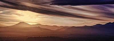 Photograph - Parting Of The Clouds by Wes and Dotty Weber