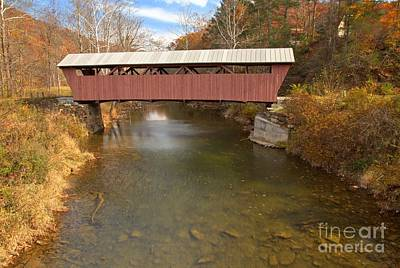 Photograph - Partly Cloudy At Hokes Mill by Adam Jewell