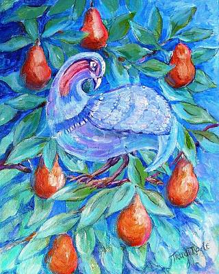Partridge In A Pear Tree  Original by Trudi Doyle