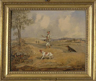 Partridge Shooting Possible Signed Lower Left H Print by Litz Collection