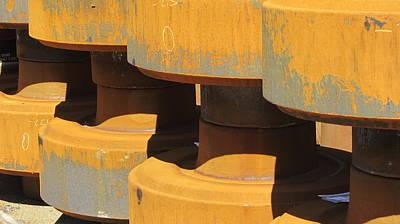 Photograph - Parts Rust 1 by Anita Burgermeister
