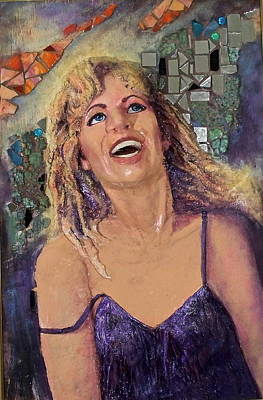 Party Girl Original by Phyllis Dunn
