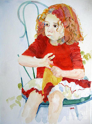 Painting - Party Girl by Sandy McIntire