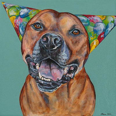 Vick Painting - Party On Hector by Clara Yori
