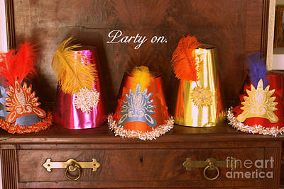 Photograph - Party On by Valerie Reeves