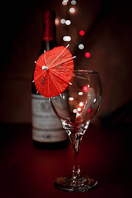 Wineglasses Photograph - Party Time Still Life by Tom Mc Nemar
