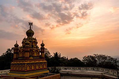 Parvati Photograph - Parvati Hill Pune India by Sanjay Purohit