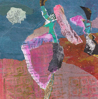 Art Print featuring the mixed media Pas De Deux by Catherine Redmayne