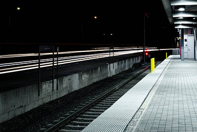 Photograph - Pasadena Station by Rollie Robles