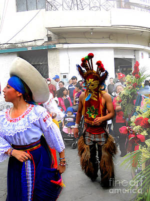 Christmas Eve Photograph - Pase Del Nino Performers by Al Bourassa