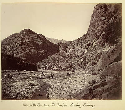 Afghanistan Photograph - Pass Near Ali Musjid by British Library