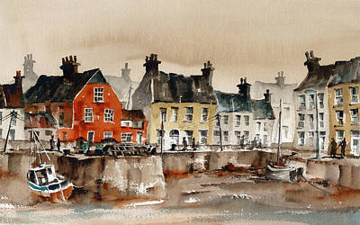Painting - Passage East Waterford by Val Byrne