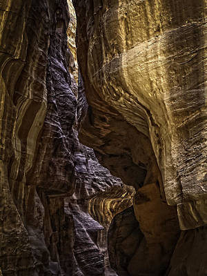 Photograph - Passage To Petra by Dave Hall