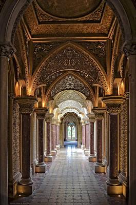 Passage Way - Monserrate Palace Art Print