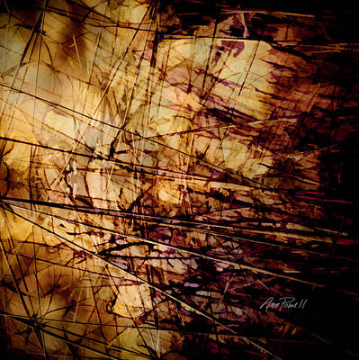 Digital Art - Passages - Abstract Art by Ann Powell