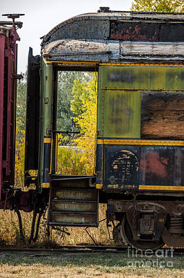 Photograph - Passenger Car Entrance by Sue Smith