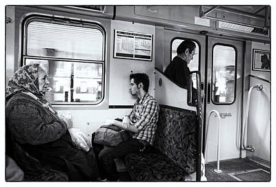 Budapest Travel Photograph - Passengers  by Madeline Ellis