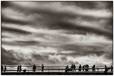 Photograph - Passing Clouds by Lenny Carter