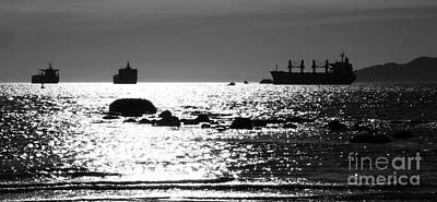 Photograph - Passing Ships by Alyce Taylor