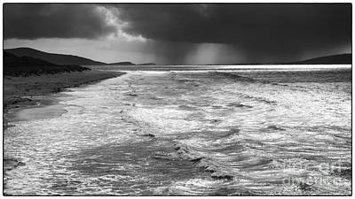 Photograph - Passing Storm Luskentyre by George Hodlin