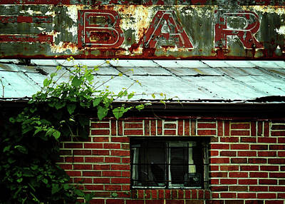 Metal Roof Photograph - Passing The Bar by Rebecca Sherman