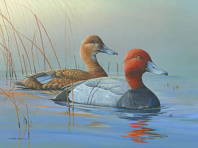 Art Print featuring the painting Passing Through by Mike Brown