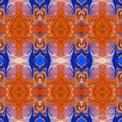 Mixed Media - Passion Accepting Of Reality Abstract Dimensional Pattern Artwork  by Omaste Witkowski