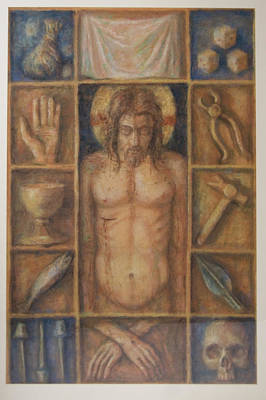 Passion Cabinet Art Print by Paez  Antonio