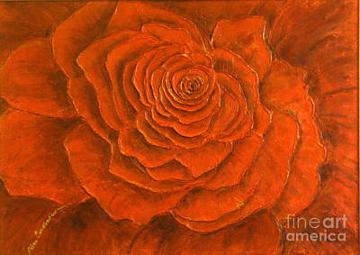Passion Art Print by Elena  Constantinescu