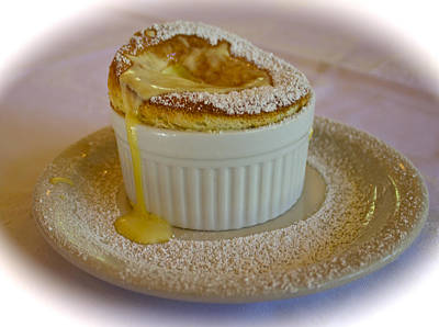 Passion Fruit Souffle Art Print by Venetia Featherstone-Witty