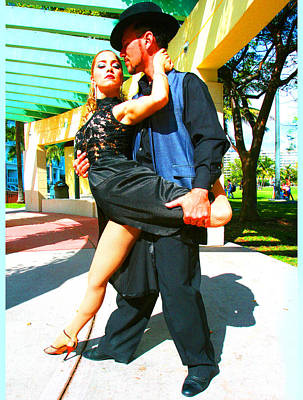 Ballroom Mixed Media - Passion In The Park by Doug Walker