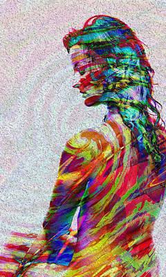 Digital Art - Passion  by Kiki Art
