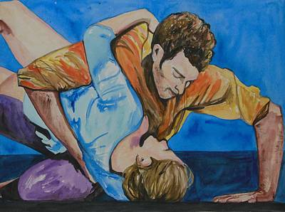 Painting - Passion Of The Dancers by Esther Newman-Cohen