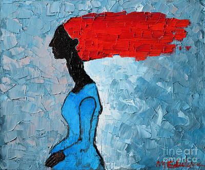 Passion Seeker Art Print by Ana Maria Edulescu
