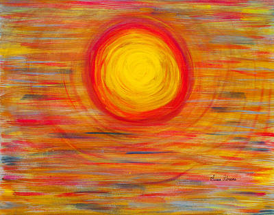 Painting - Passion Sun by Susan Abrams