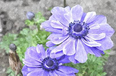 Digital Art - Passionate About Purple by Jim Brage