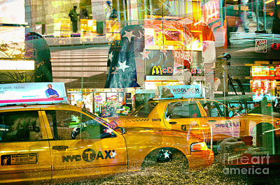 American City Scene Digital Art - Passion Nyc 42nd Vanderbilt Ave. by Sabine Jacobs