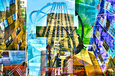 Passion Nyc 5th Avenue Art Print by Sabine Jacobs