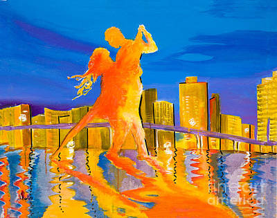 Passion's Dance Original by Lynne Barletta